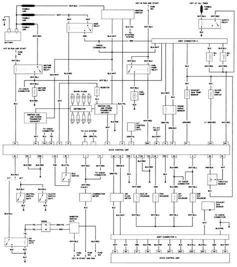 nissan u13 wiring diagram wiring diagram with description