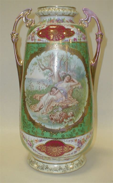 Austrian Vases Markings by Austrian Porcelain Vase With Quot Bee Hive Quot Decorated With