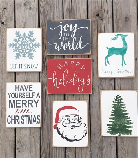 25 best ideas about christmas signs on pinterest