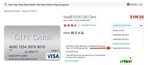Visa Gift Card Statement - buy 200 visa gift cards and earn big ur points running