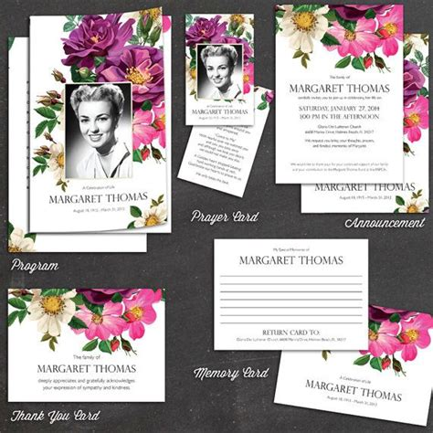 funeral stationery templates 25 best images about funeral service booklet on