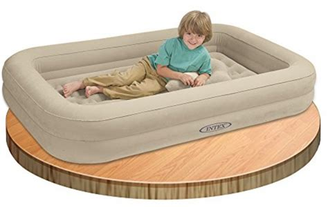 kids air bed outdoor indoor traveling children portable