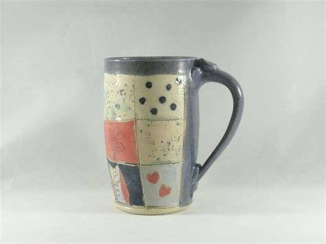 unique coffee mugs unique coffee mugs large tea cup pottery mug by