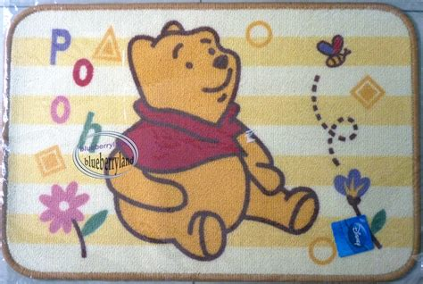 Classic Pooh Rug by Disney Winnie The Pooh Bathroom Door Kitchen Mat Rug