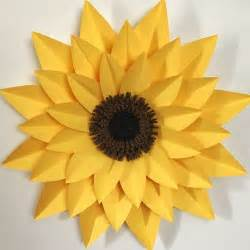 Sunflower With Paper - 25 unique paper sunflowers ideas on tissue