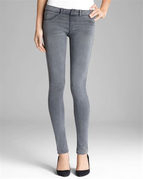 sold design lab denim sold design lab jeans 360 pull on skinny in grey in gray
