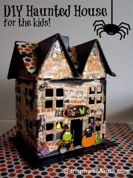How To Make A Haunted House Out Of Paper - cardboard houses for and house on