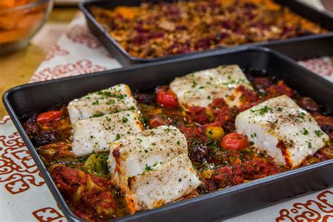 veracruz style red snapper fillets  tomatoes capers  olives home family hallmark