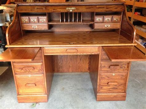 roll top desk oak winners only inc saanich