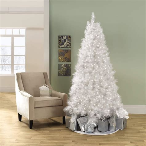 searscom white christmas tree 7 foot white tree a white with kmart