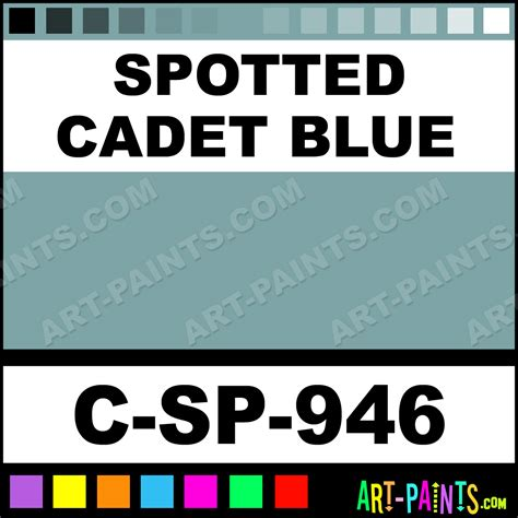 spotted cadet blue low ceramic paints c sp 946 spotted cadet blue paint spotted cadet