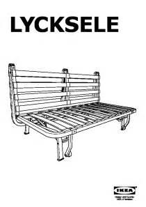 struttura divano letto lycksele h 197 vet divano letto a 2 posti hen 229 n ikea