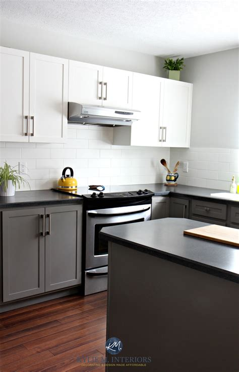 Budget Friendly Kitchen Cabinets Budget Friendly Kitchen With Painted Cabinets Benjamin Chelsea Gray Gray Owl White