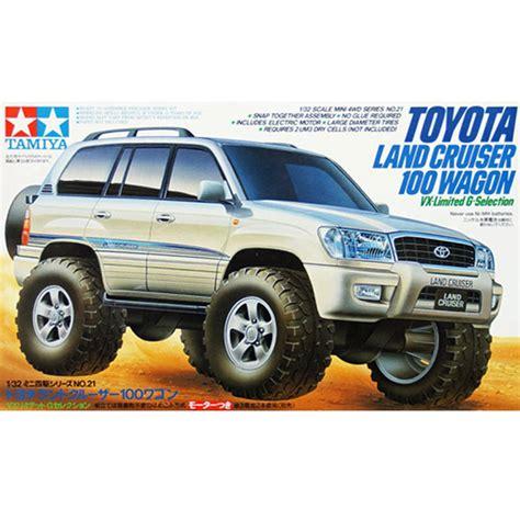 tamiya 19021 1 32 scale mini 4wd racer mini truck toyota land cruiser 100 wagon vx