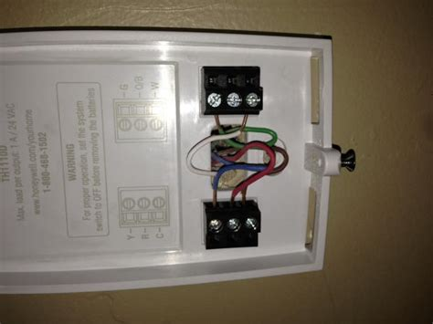 No C wire terminal on new Honeywell Thermostat   What to do?   DoItYourself.com Community Forums