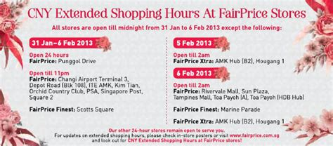 new year singapore pools opening hours new year singapore supermarket opening hours 2013