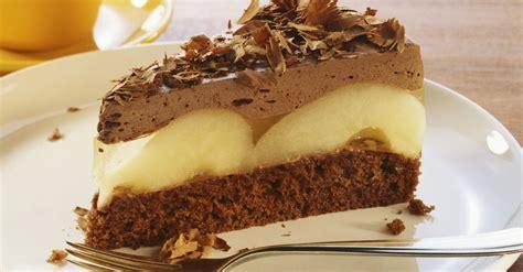 schoko birnen torte rezept eat smarter