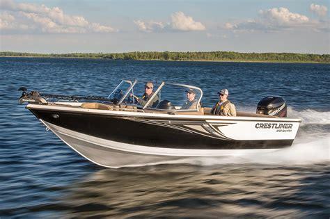 Rugged Liner Dealers 2016 New Crestliner 2150 Sportfish Outboard Aluminum