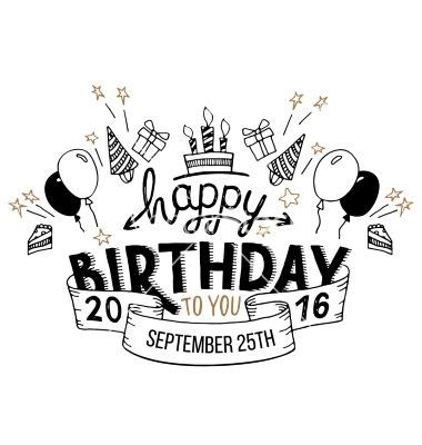 happy birthday lettering design 25 best ideas about happy birthday font on pinterest