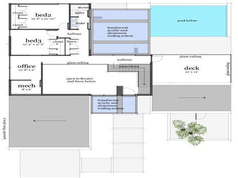 modern house floor plans modern beach house floor plan modern one level house plans modern beach house floor