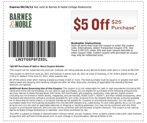 Can I Use A Barnes And Noble Gift Card Online - barnes n nobles coupon codes coupon codes blog