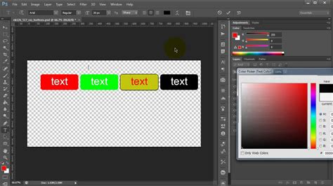 css how to make rollover buttons event button web buttons psd to css rollover hover buttons for html and web youtube