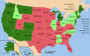 Medical Marijuana States Map by How To Get A Medical Marijuana Card In All Legal States