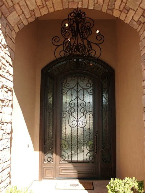 Iron Front Doors For Homes Inspiration Iron Entry Doors Home Ideas Collection