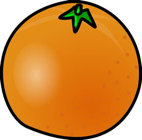 orange clipart orange clip at clker vector clip