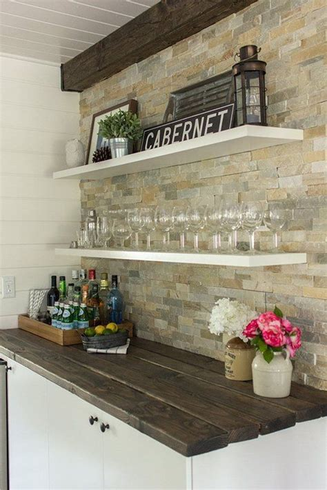 29 cool stone and rock kitchen backsplashes that wow 29 cool stone and rock kitchen backsplashes that wow