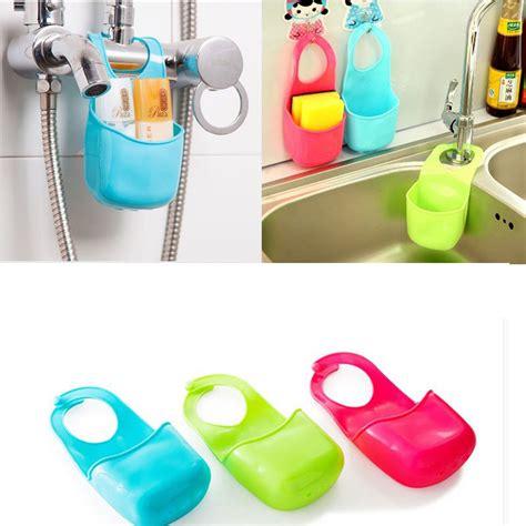aliexpress kitchen accessories 1pc home sponge storage gadget rack basket tiny items