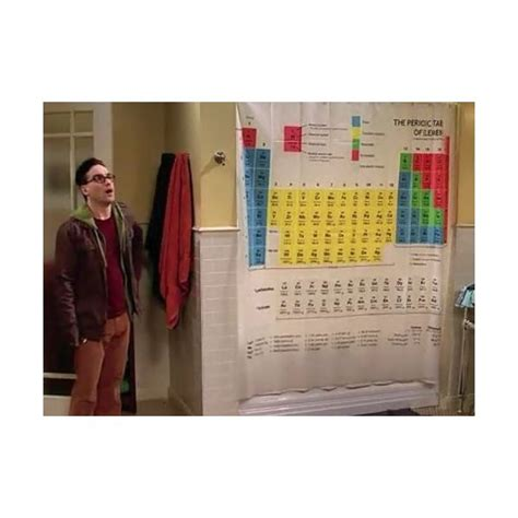 cortina de ducha tabla periodica cortina de ducha con la tabla peri 243 dica de elementos otras