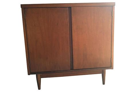 mod bar lp record album storage cabinet omero home