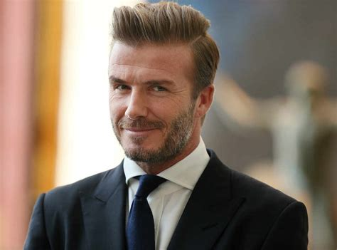 beckham hair wax david beckham to come out of retirement and play soccer