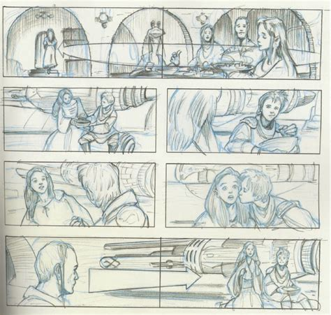 star wars storyboards 1419707728 storyboards reveal the amazing star wars prequel you never saw conversations from the cubicle