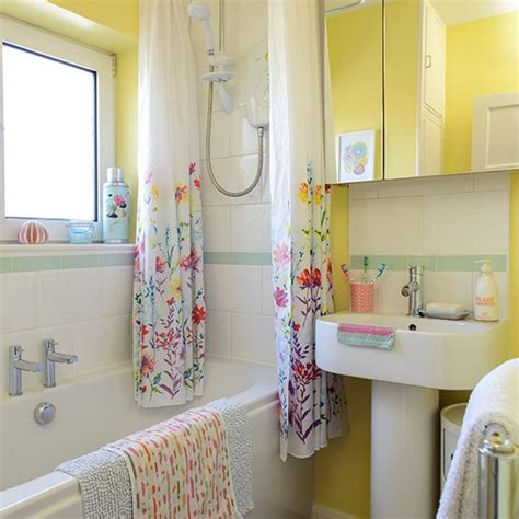 bright bathroom decor colourful yellow bathroom decorating with bright colours