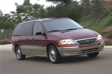 minivan ford ford recalls 575 000 windstar minivans rear axle