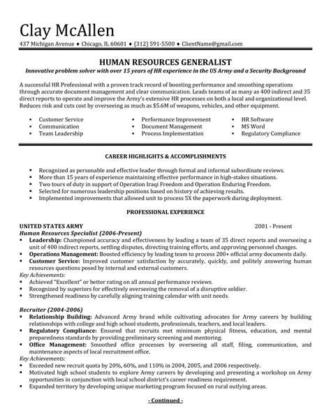 to civilian cover letter professionally written resume sles rwd