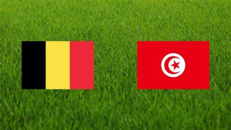 belgium vs tunisia 2002 footballia
