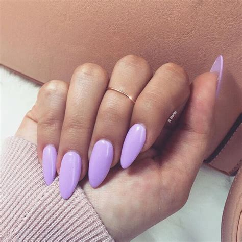 almond nails look of almond nails and perfect lavender almond shaped nails nail art
