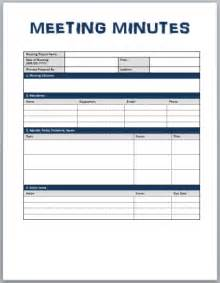 Meeting Notes Template Free Minutes Of Meeting Template The Letter Sample