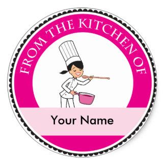 Professional Kitchen Labels From The Kitchen Of Stickers Zazzle