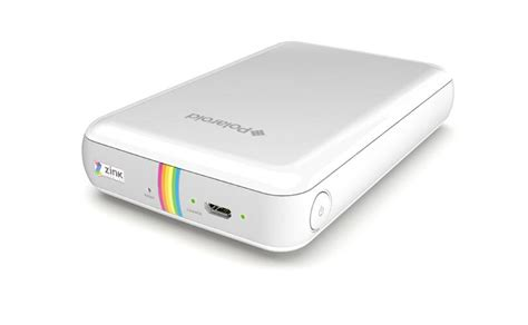 mobile polaroid printer polaroid zip photoprinter review rating pcmag