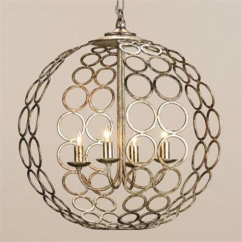 Chandelier Sphere circlet sphere chandelier