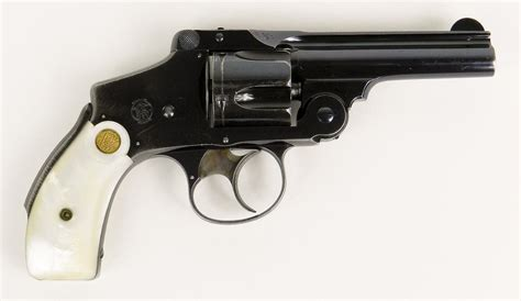 k d smith auctions s w 38 4th model hammerless revolver