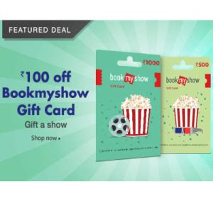 bookmyshow gift voucher amazon bookmyshow gift card vouchers offers
