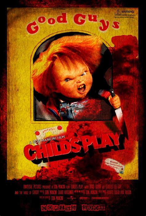 chucky movie remake child s play remake poster concept childs play