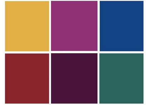 colors that look good with purple color jewel tones on pinterest jewel tone colors