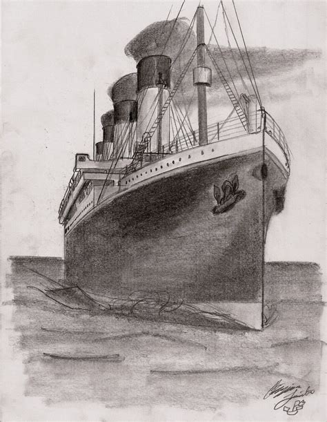 titanic boat sketch titanic ship color pencil drawing photos amazing drawing