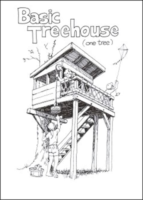 treeless tree house plans diy treeless tree house plans plans free